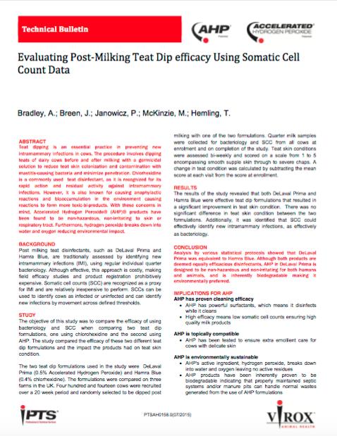 AHP_Evaluating_Post-Milking_Teat_Dip_Efficacy